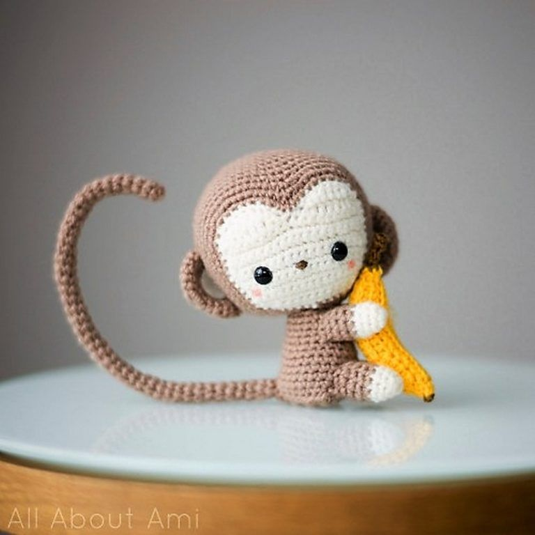 50 Free Crochet Patterns for Amigurumi Toys | Portachupetes, Cosas ...