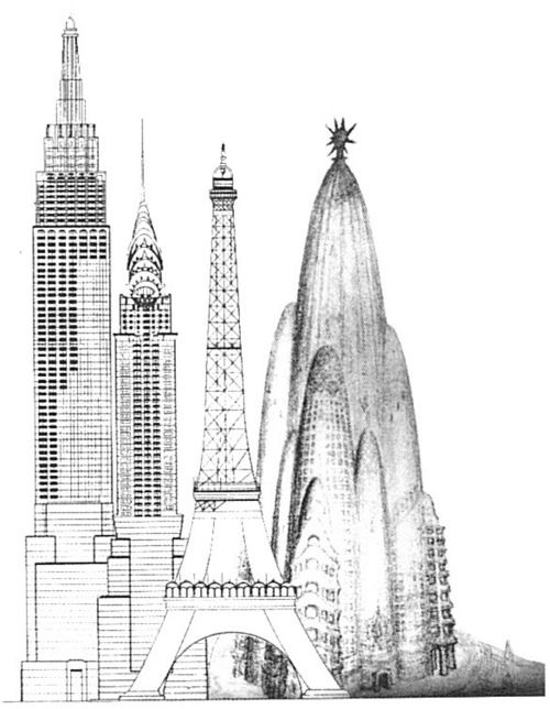 Relative Size Of Gaudi S Grand Hotel Compared To Empire State