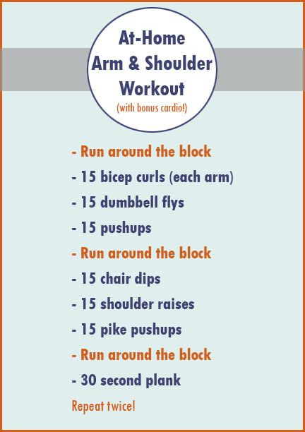 At Home Upper Body Workout Workouts