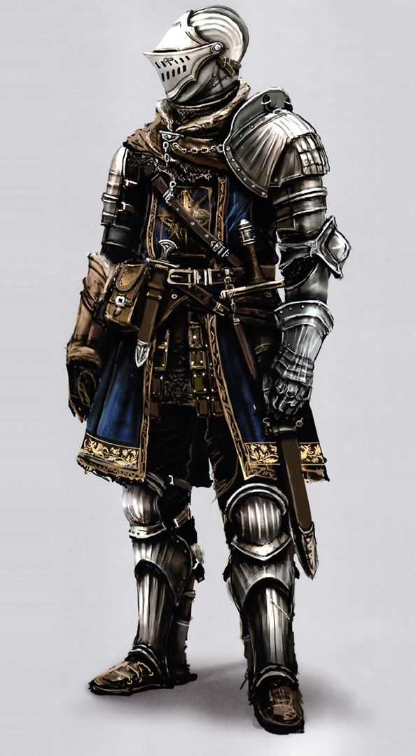 This Is An Armor Set From Dark Souls And To Me It Represent