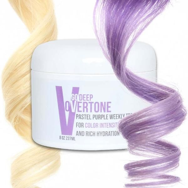 Ready To Get A Floral Fix With This Lilac And Lavender Hue Bring The Salon Experience Home Keep Your Ha Dyed Hair Purple Pastel Purple Hair Hair Color Pastel