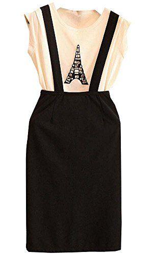 Women's Gem Eiffel Sling Bag Dress Set Size M white Black HKJIEVSHOP http://www.amazon.com/dp/B00KV0JD5C/ref=cm_sw_r_pi_dp_-a8Cub1YZ2Q1E