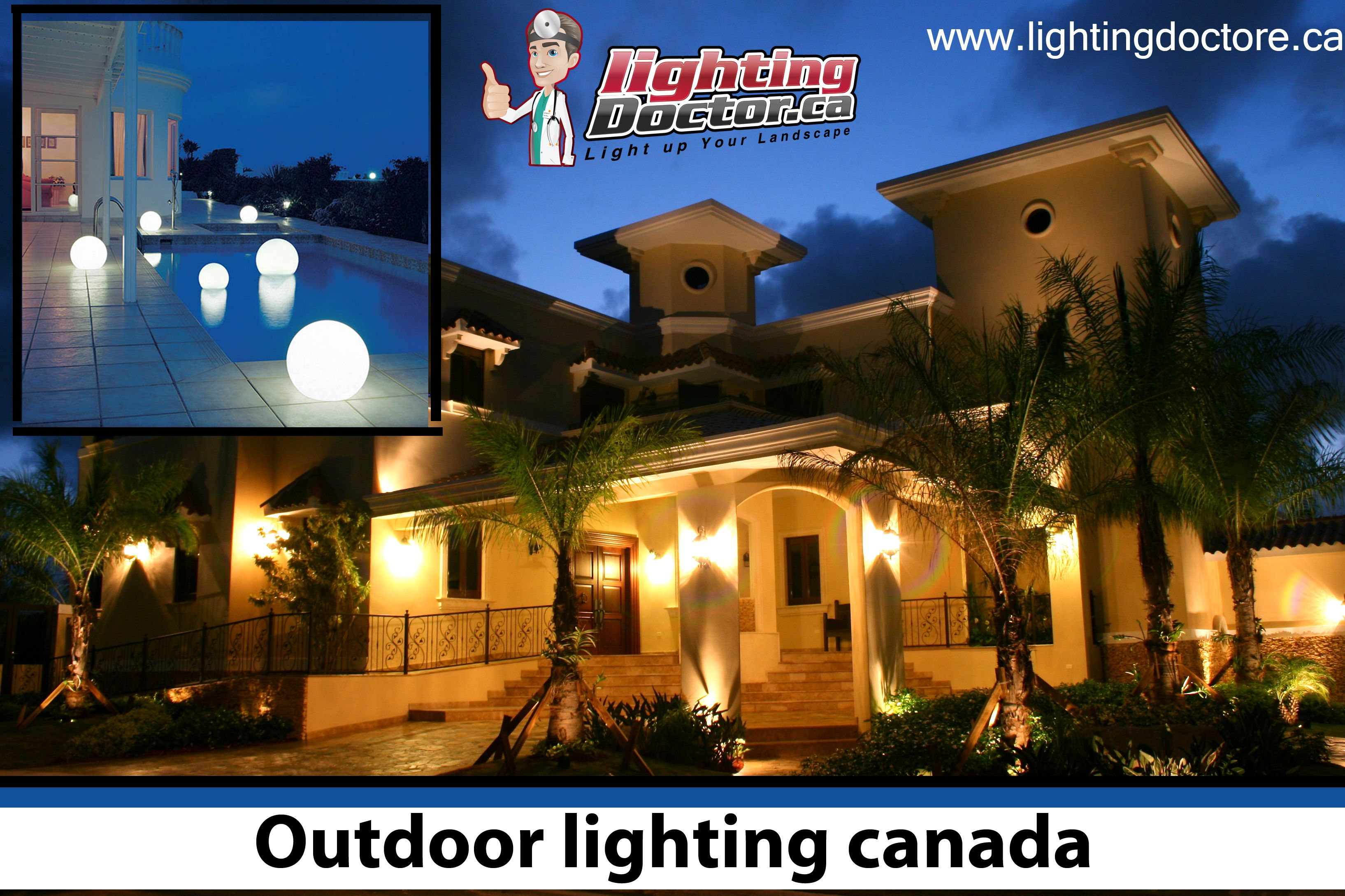 Outdoor Lighting Can Build Your Home Gorgeous As Well As Secure Bring A Further Measure Of Outdoor Lighting Outdoor Landscape Lighting Landscape Lighting Kits