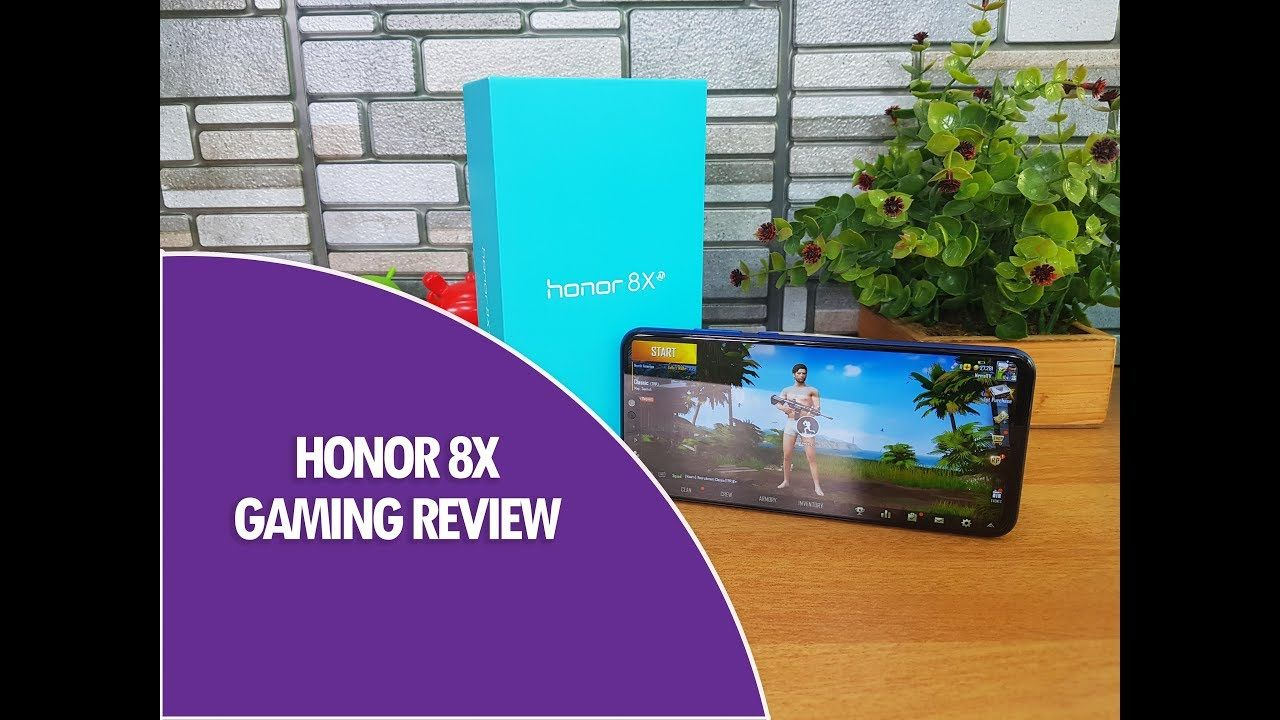 Honor 8X Gaming Review with PUBG Mobile HD and Asphalt 9