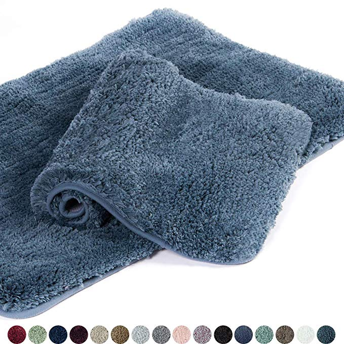 Amazon Com Walensee Bathroom Rug Non Slip Bath Mat For Bathroom
