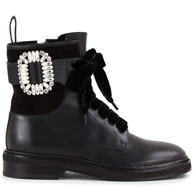 9884114b0fa Boots & Ankle Boots Shoes Viv' Rangers Strass Buckle Ankle Boots ...
