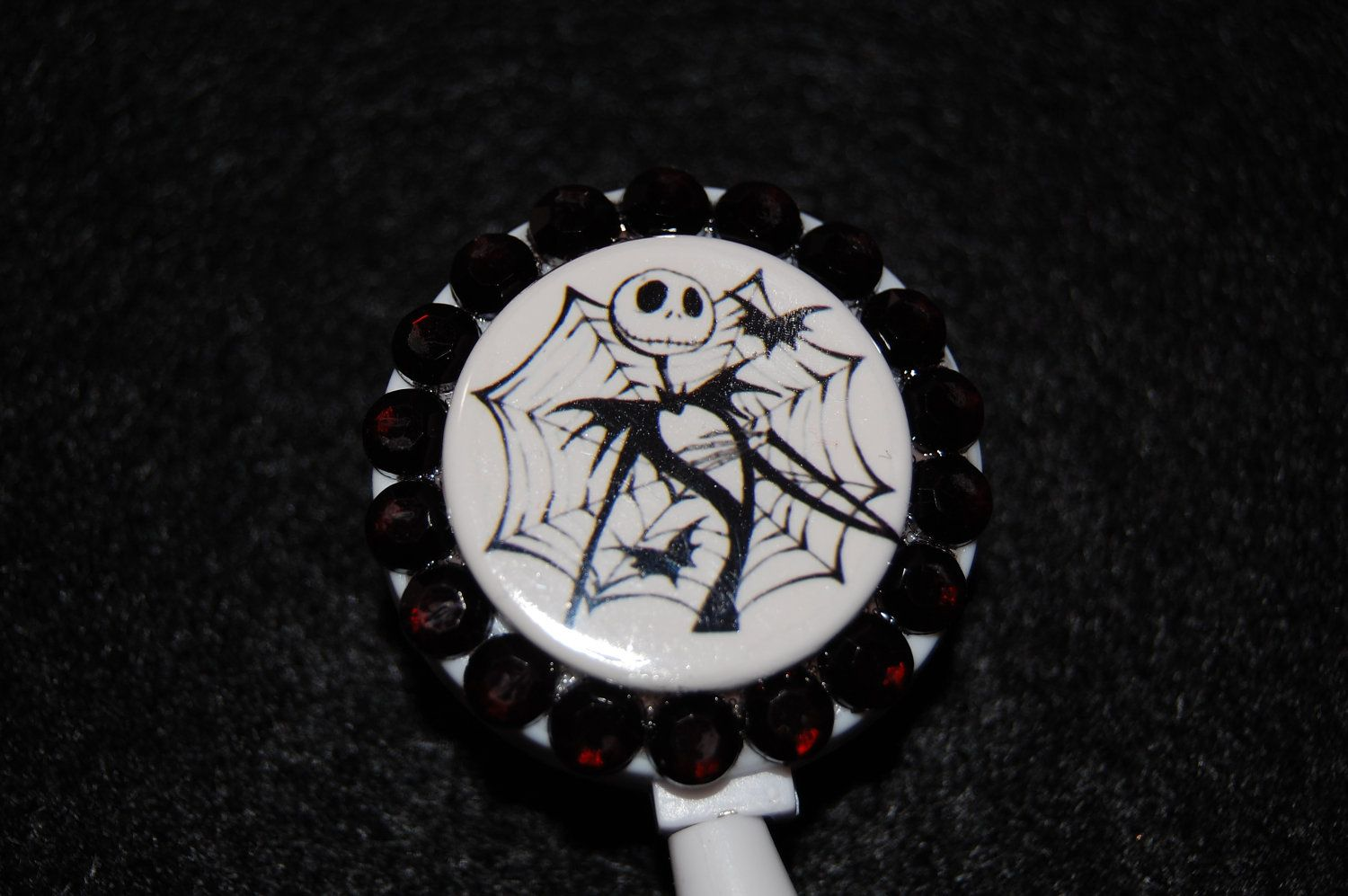 Jack Skellington Nightmare Before Christmas by hotheadzscrubcaps, $10.00