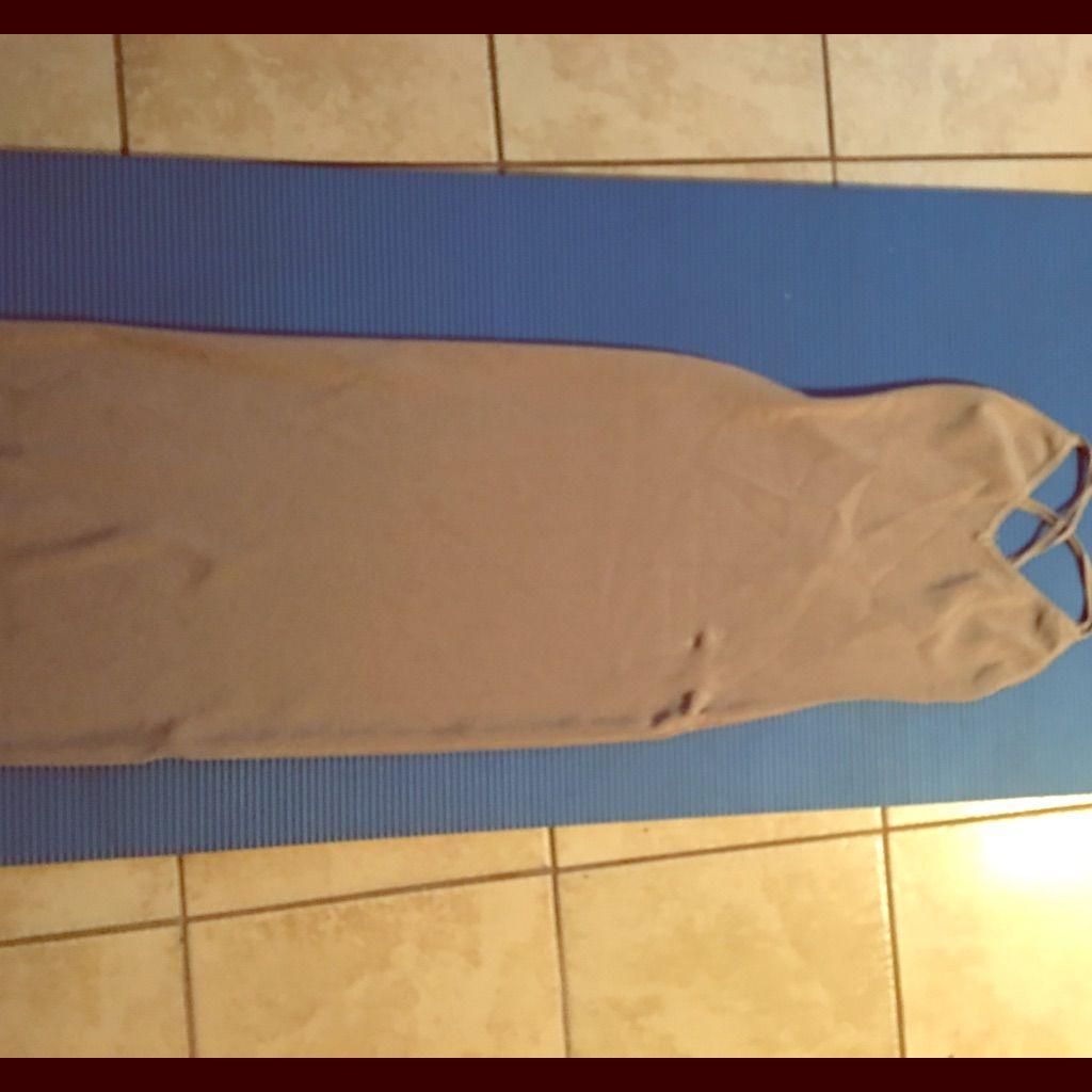 Gray Stretch Dress Medium Gray Never Used