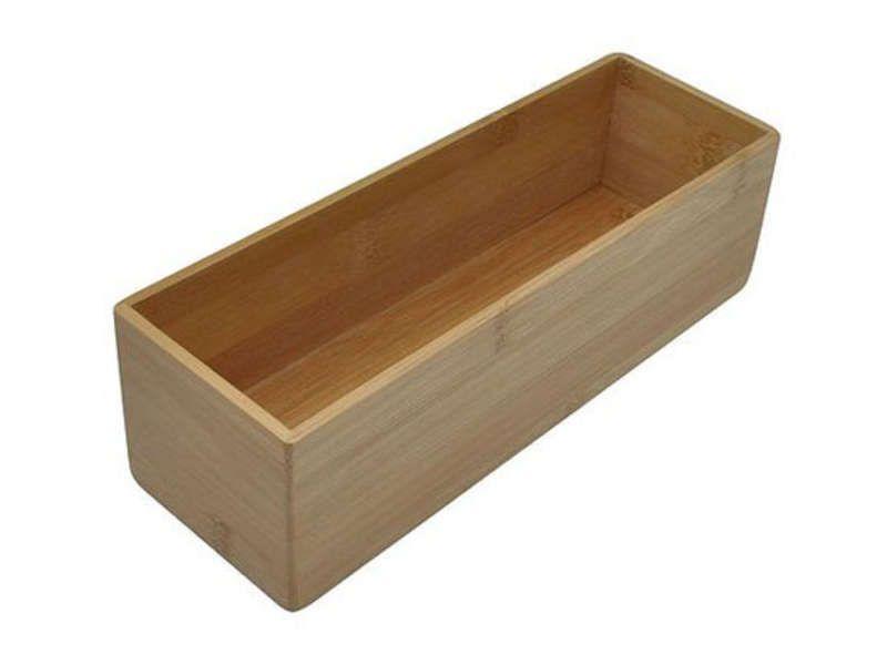 boite de rangement rectangulaire grand mod le bambou. Black Bedroom Furniture Sets. Home Design Ideas