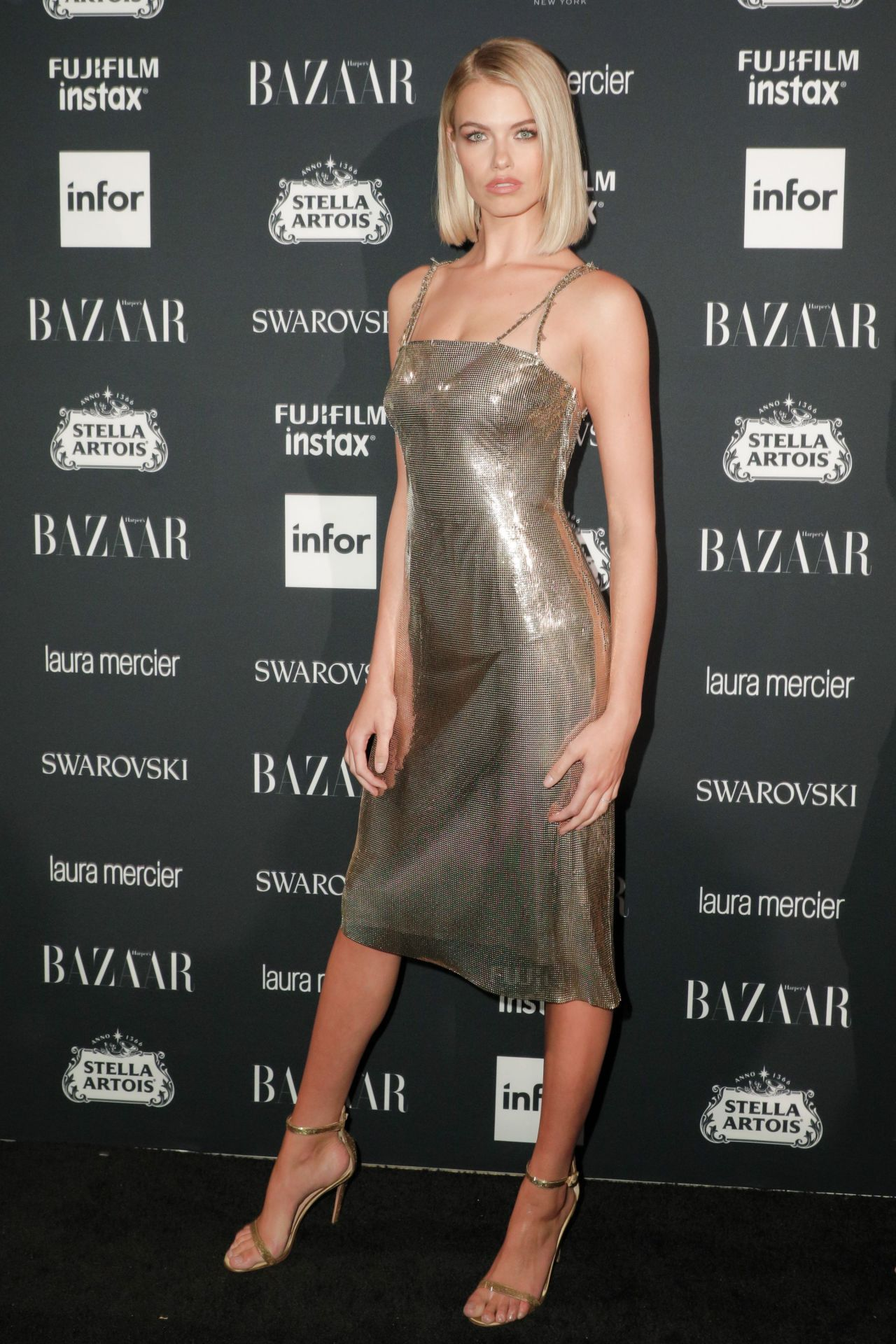 Hailey Clauson Harper's Bazaar ICONS Party in New York