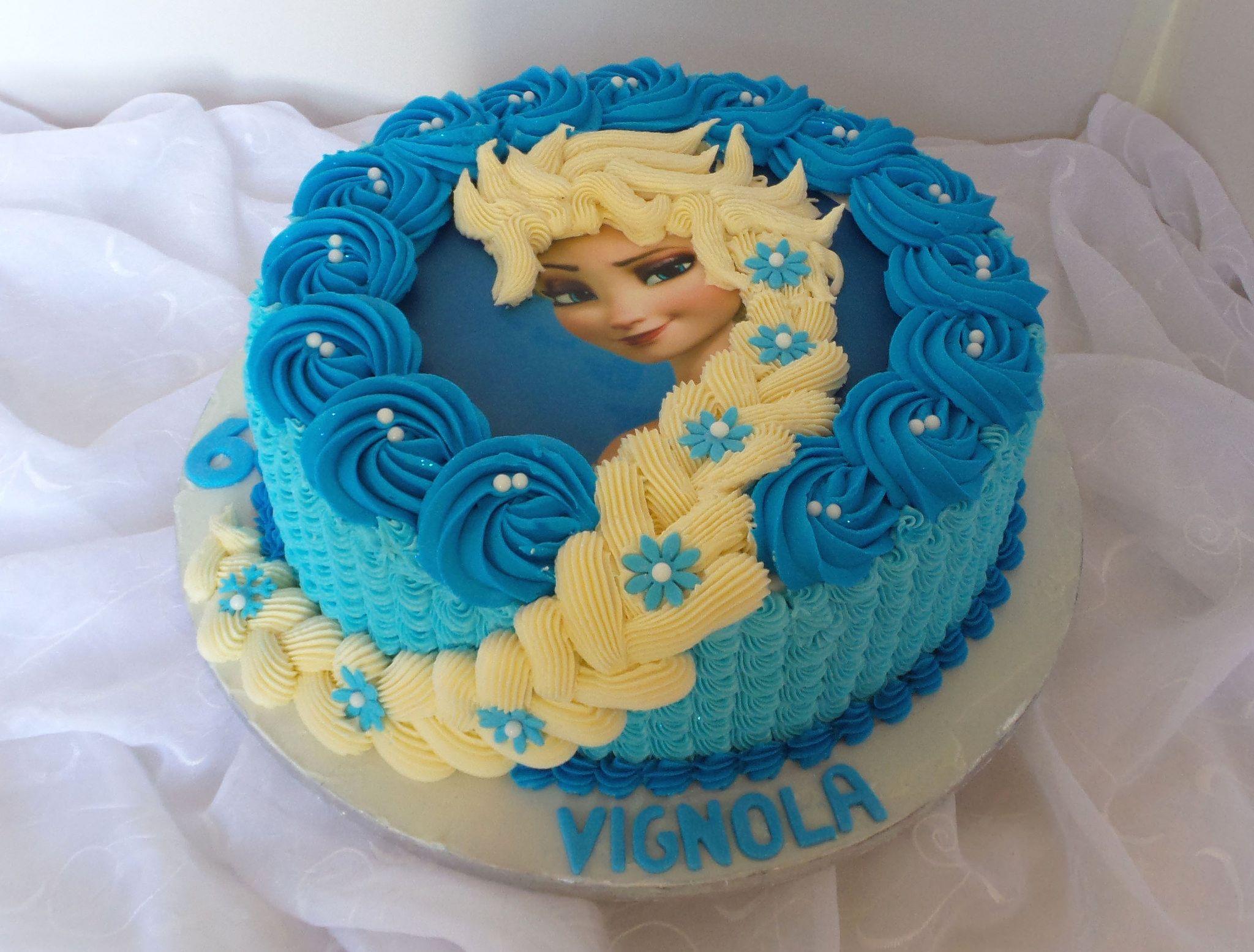 frozenElsa themed birthday cake Birthday cakes Cake and Bakeries