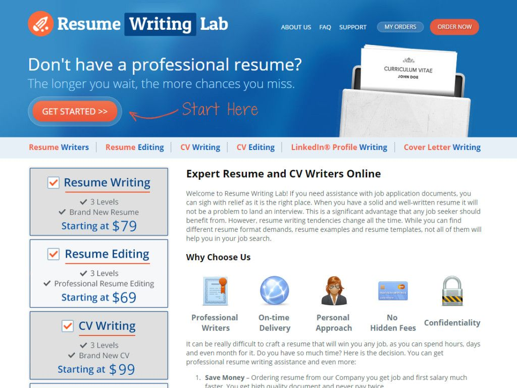 company that provides a solid resume writing assistance