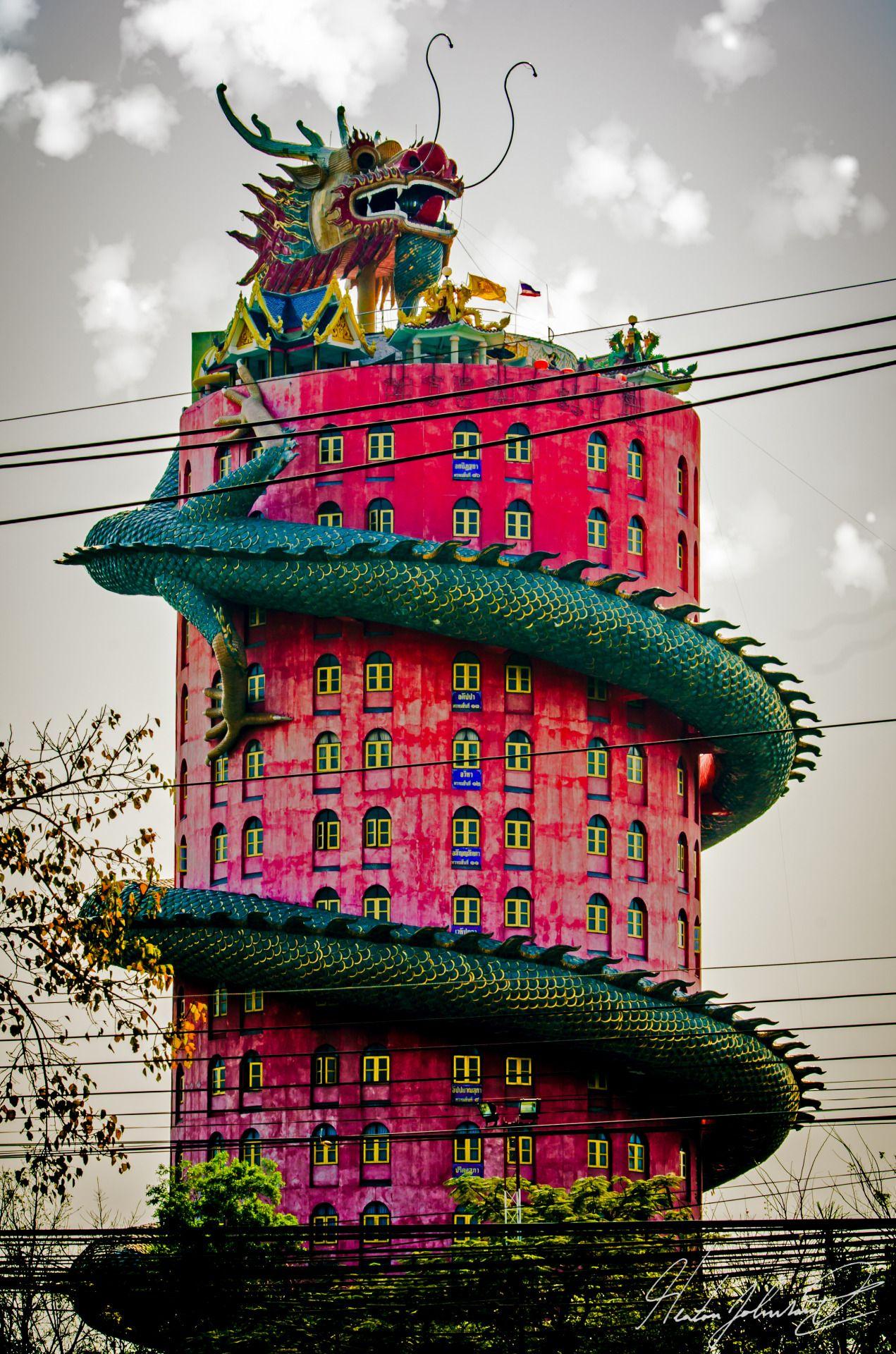 Haute Tramp. Temple ThailandBangkok ...
