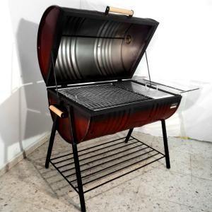 Reutilizando tonel para fazer churrasqueira tambor - Tipos de barbacoas ...