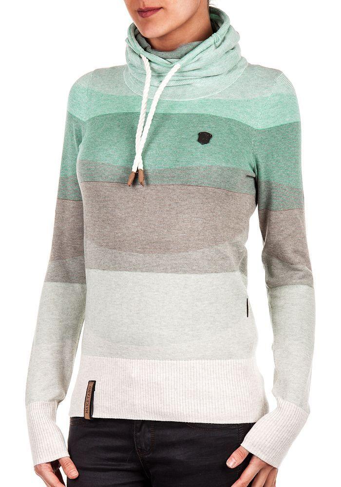 purchase cheap 64da1 68382 Details about Naketano Ladies' Knitted Sweatshirt schmierao ...