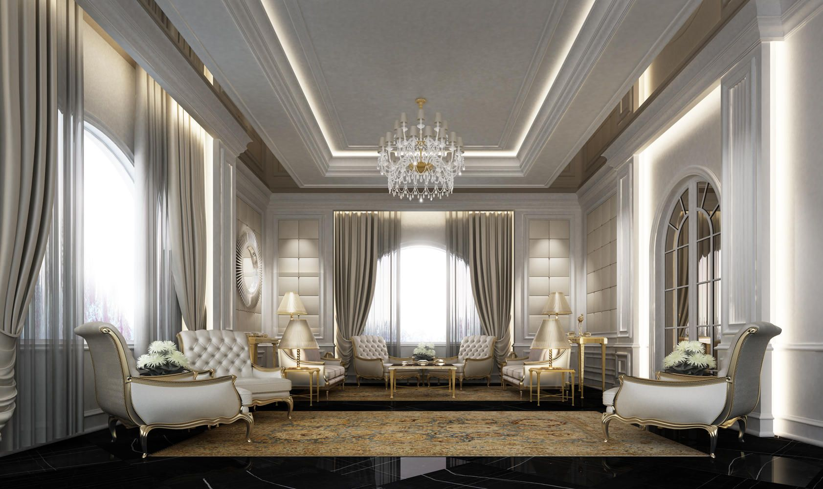 Arabic majlis designs ions design interior design for Interior decoration companies in dubai