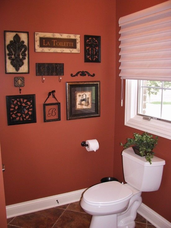 Powder Room Wall Decor outstanding ideas of arranging photos on a wall: traditional