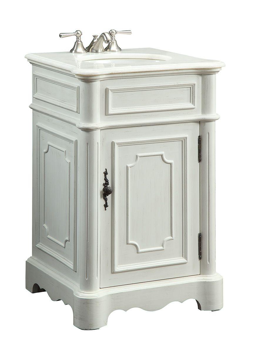 Antique White Teega Powder Room Vanity Size 21x19x33 H Powder Room Vanity Bathroom Vanity Vanity Sink