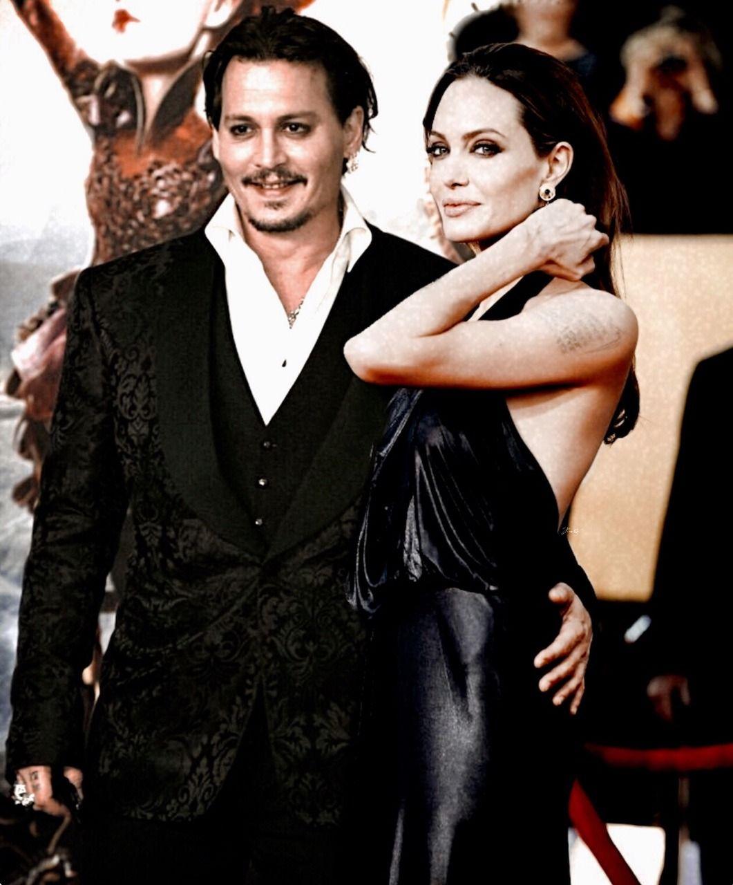 Pin By Fatemeh Amirhosseini On Johnny Depp Angelina Jolie Johnny Depp Angelina