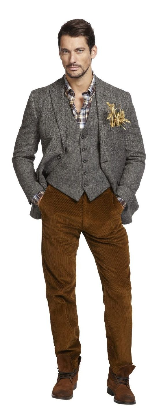 See David Gandy as the Mad Hatter, Scarecrow & More in Marks & Spencers Enchanting Holiday 2013 Campaign