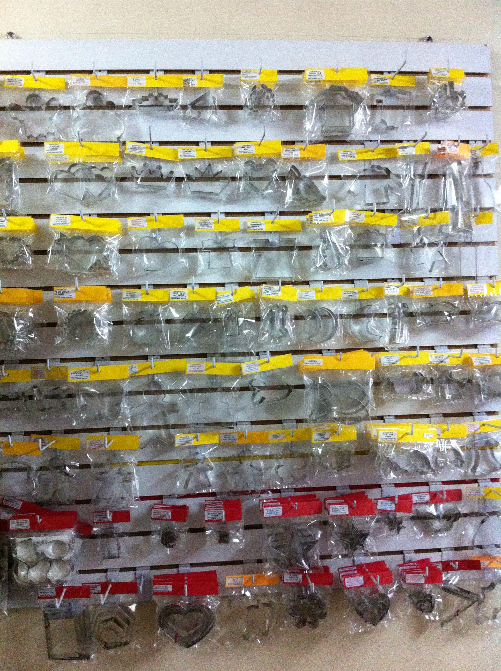 Panel con modelos sencillos de cortadores. Desea informes: México:0155-5523-7493.  Cel:04455-3648-6708.