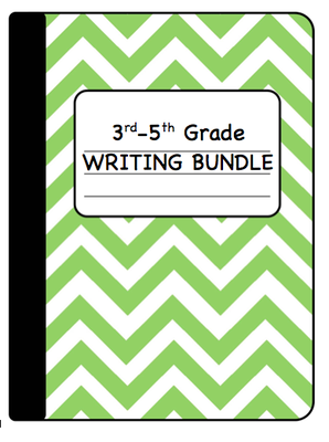 40% OFF DAILY DEAL!   Writing Bundle Grades 3-5 from Inspire the Love of Learning on TeachersNotebook.com -  (160 pages)  - This writing bundle will help your students to grow in their writing!