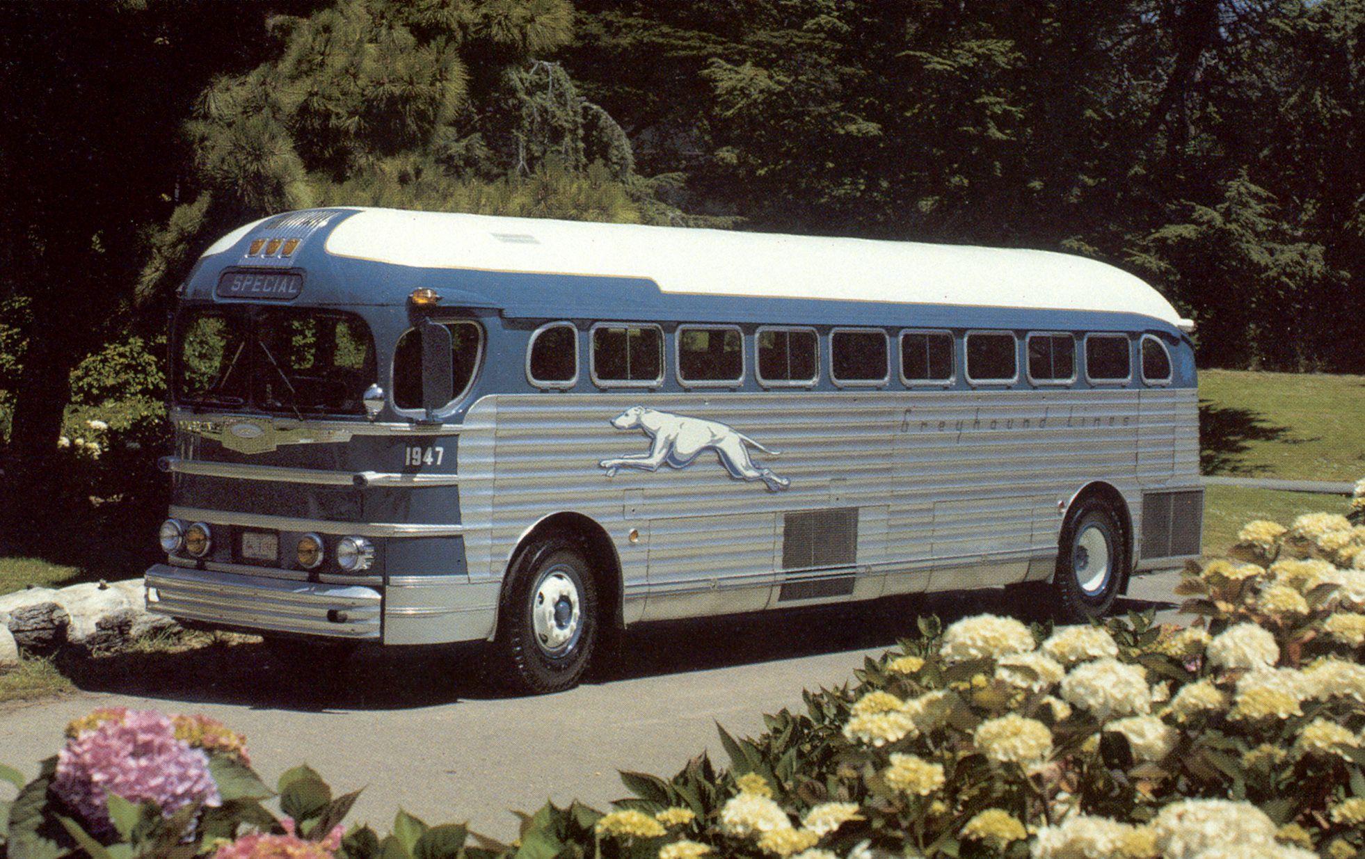 1947 GM Silversides PD3751 Bus