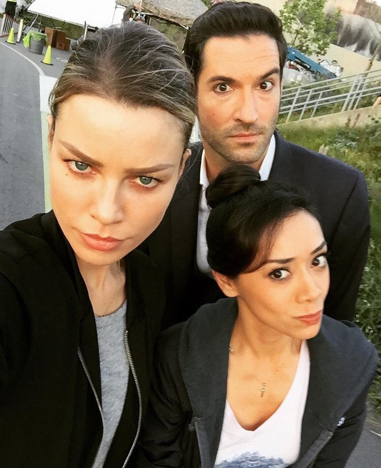 Lucifer Netflix Cast: Tom Ellis Lucifer, Aimee