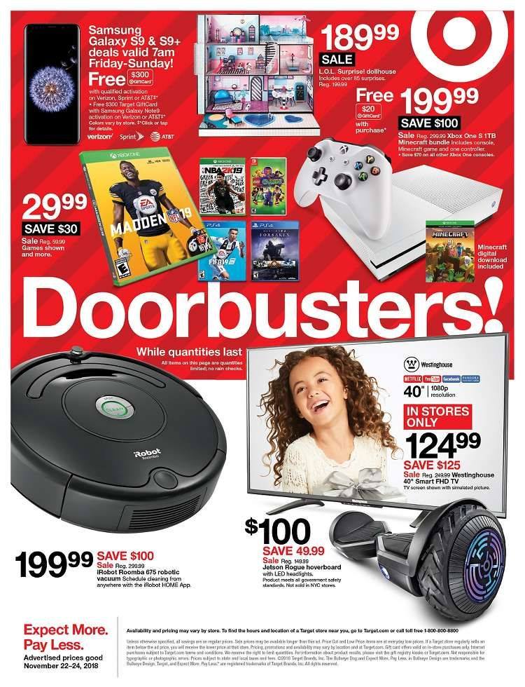 Weekly Ad Page 48 Of 48 Click To View Listing Item Black Friday Target Black Friday Black Friday Ads