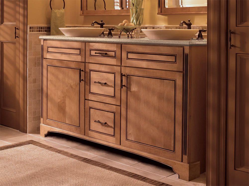 make your kitchen cabinet designs and remodeling ideas a reality with the most recognized brand of kitchen and bathroom cabinetry kraftmaid - Bathroom Cabinets Kraftmaid