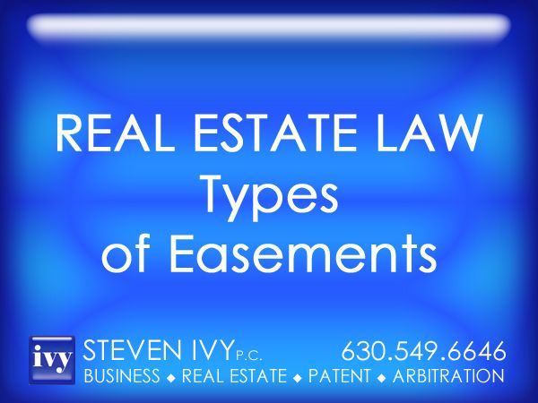 Types Of Essments | Types Of Easements The Most Common Types Of Easements Include 1