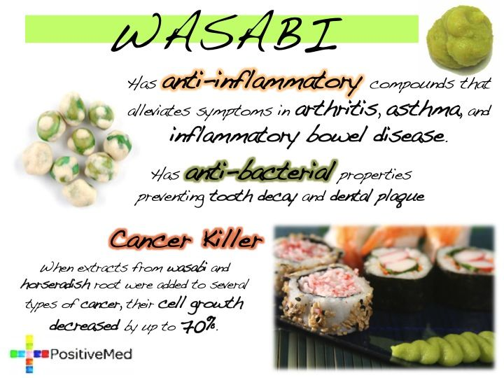 3 Major Health Benefits of Wasabi | Health benefits, Inflammatory ...