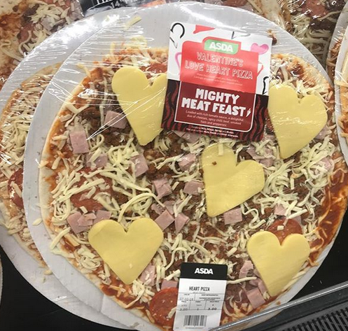 Which Asda Pizza Says I Love You Best Mighty Meat