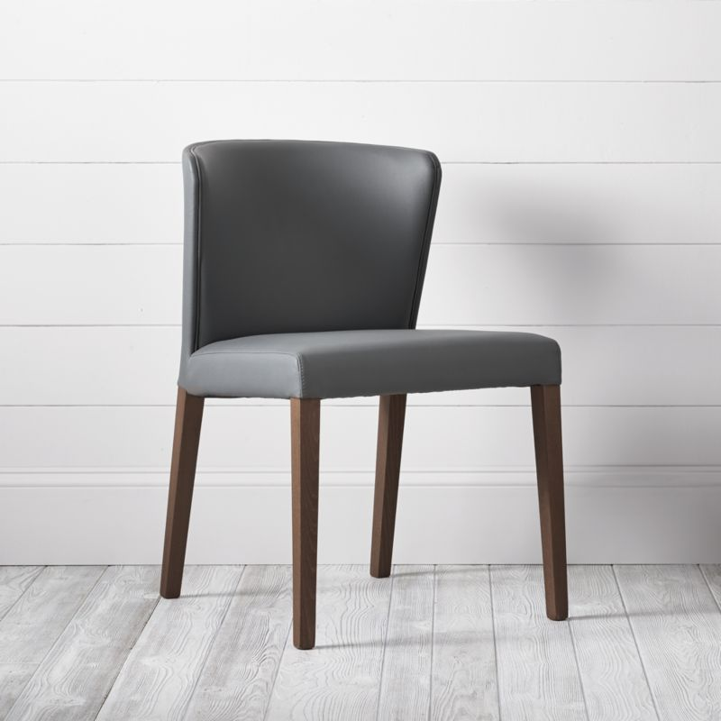 Curran Grey Dining Chair Crate And Barrel Dining
