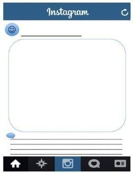 instagram template - Google Search | Spirit Week | Pinterest | Teacher