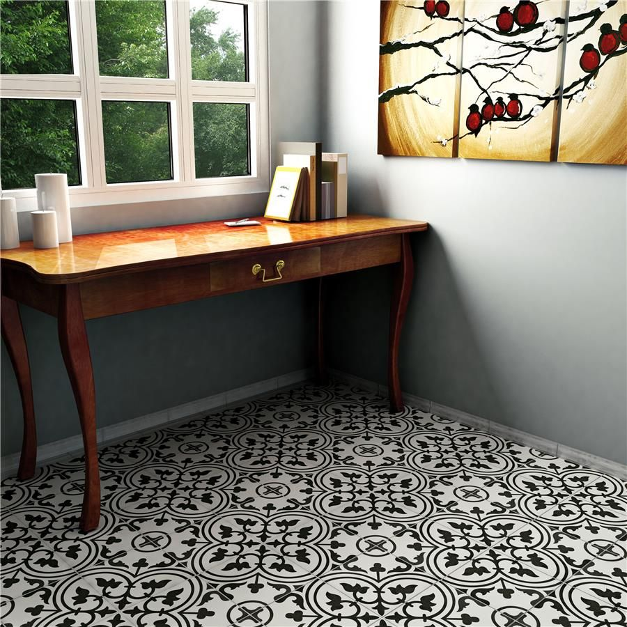 Somer tile company 975 x 975 arte white porcelain floorwall somer tile company 975 x 975 arte white porcelain floorwall tile dailygadgetfo Gallery