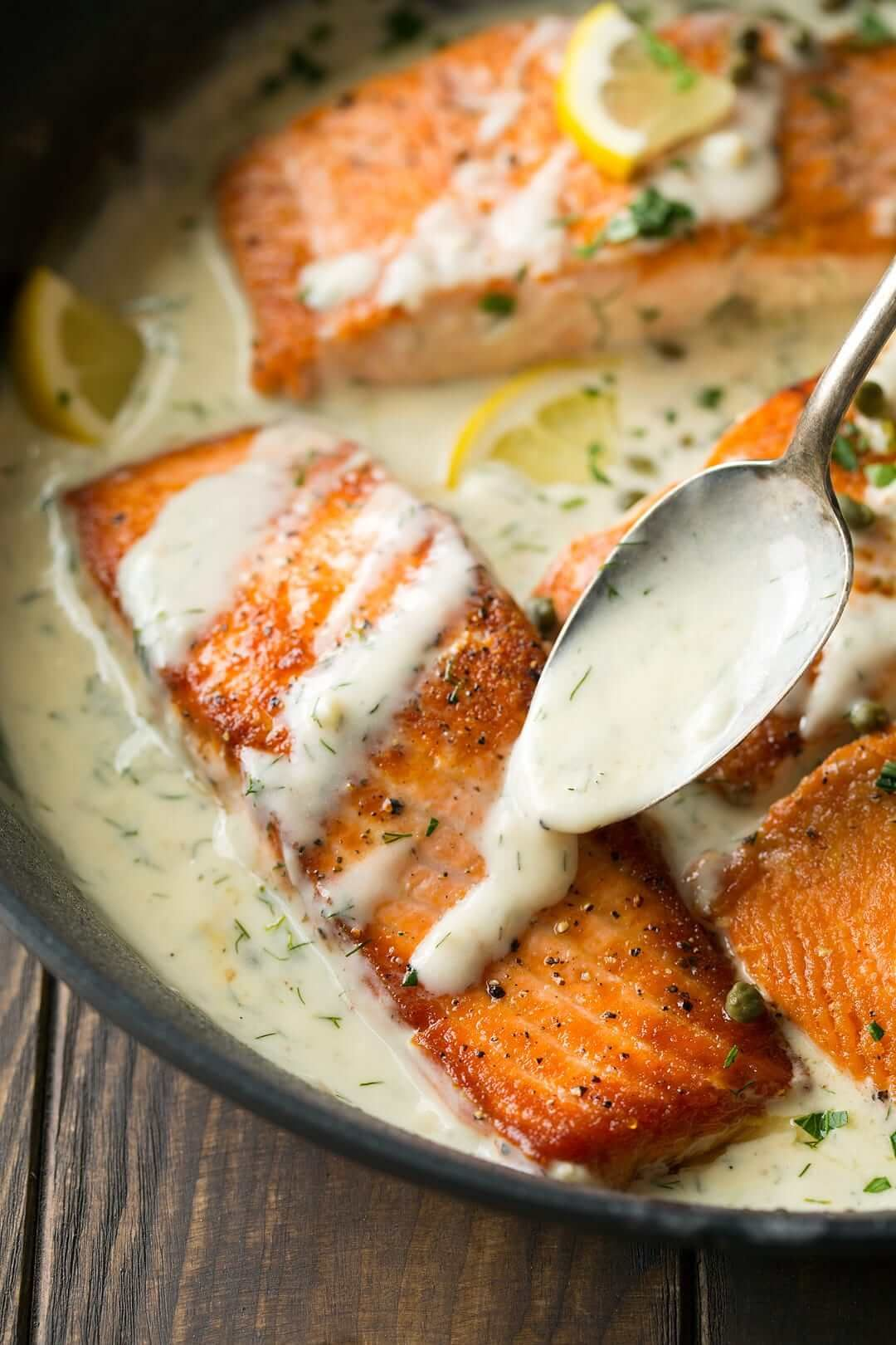 Best Creamy Fish Dishes Of All Time Salmon Dishes Salmon Recipes Fish Dishes