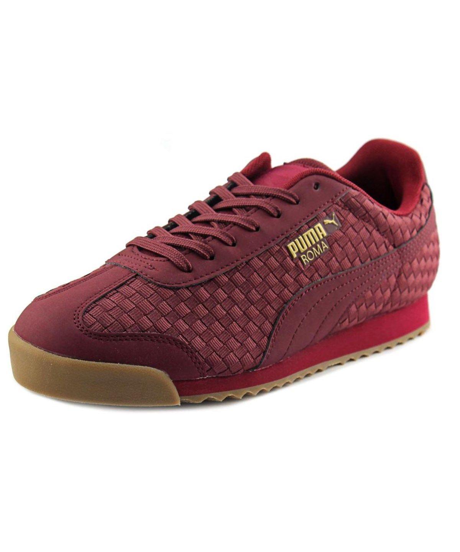 Men Round Weave Qpq1i Toe Puma Roma Sneakers' Canvas Shoes f7qfgtX