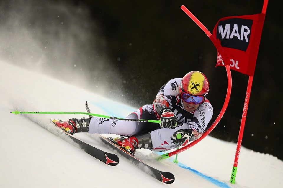 ABOUT A FIXED SCREW: Marcel Hirscher competed the Alpine World Cup giant slalom in Alta Badia, Italy, Sunday. Mr. Hirscher, an Austrian, won...