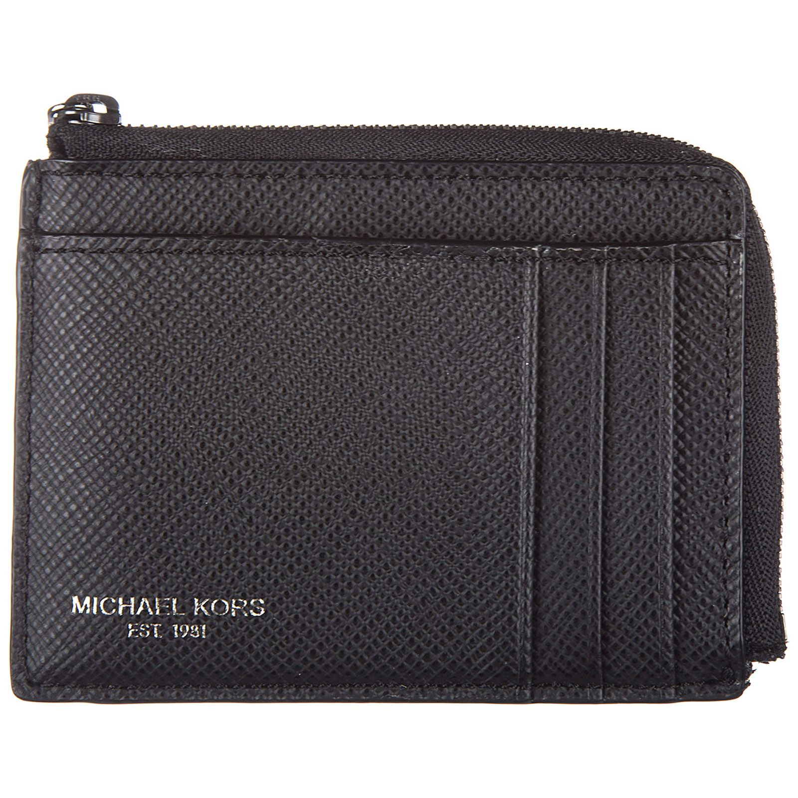 28fdb754dd7d MICHAEL KORS MEN S GENUINE LEATHER CREDIT CARD CASE HOLDER WALLET HARRISON.   michaelkors