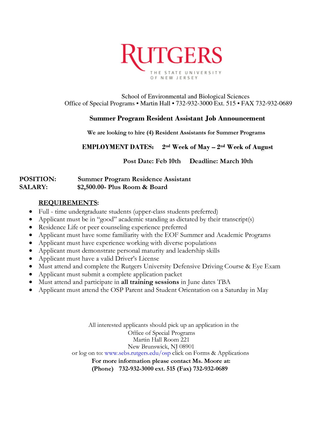 Resident Assistant Resume Examples Inspirational Resident Assistant Resume Resume Template
