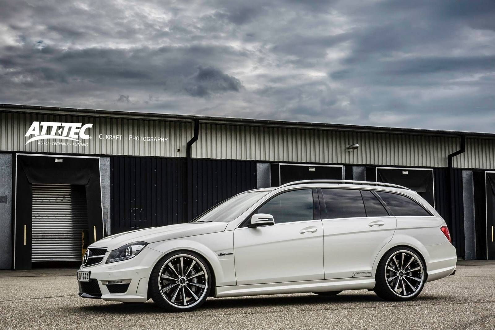 mercedes-benz c 63 amg estateatt-tec gmbh | need for speed
