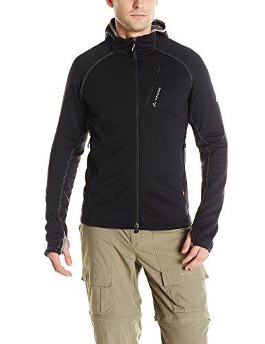 reputable site 8cc73 20dd7 VAUDE Mens Basodino Hooded Jacket Black XLarge -- Click ...