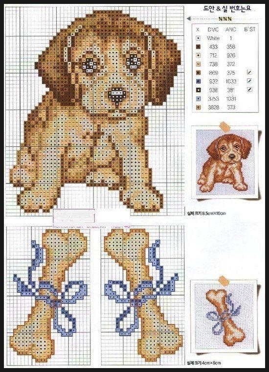 de Cachorros | Plastic Canvas & Cross Stitching projects | Pinterest ...