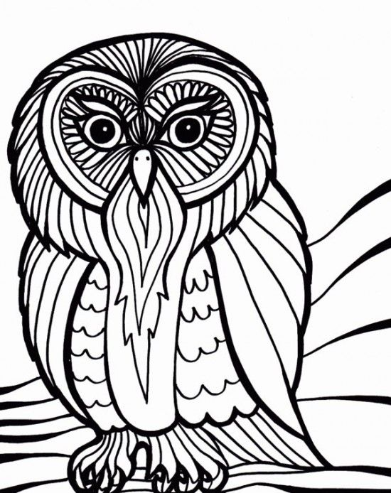 Printable Coloring Pages For Adults   crafts   Pinterest   Craft