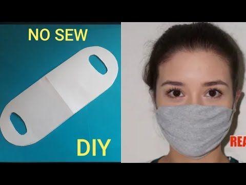 Photo of DIY FACE MASK》Mascara de proteção de camiseta velha sem costura