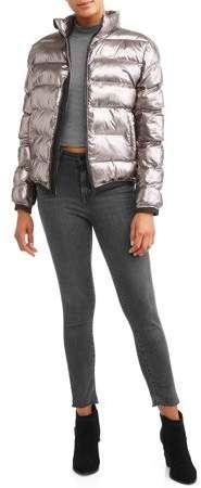 1e70f0d66da80 Climate Concepts Women's Foil Bubble Jacket | Capsule Wardrobe ...