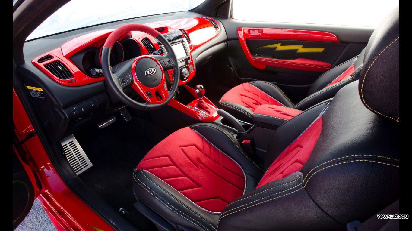 Flash Kia Forte Koup Kia Sportage Kia Motors Interior De Carros De Luxo