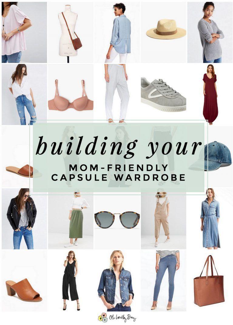 Creating a Mom-Friendly Capsule Wardrobe - Oh Lovely Day | Chandra Fredrick