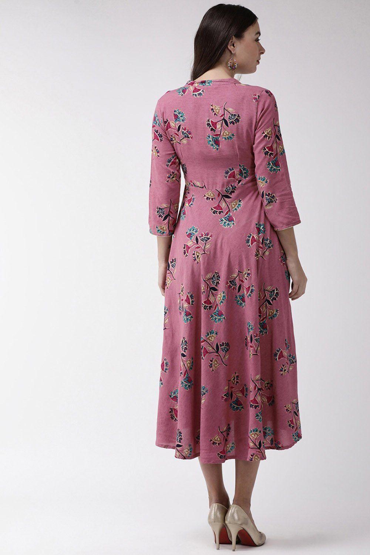 Viscose Printed Maxi Dress In Pink Printed Sponsored Viscose Maxi Pink Aff Printed Maxi Dress Dresses Maxi Dress [ 1500 x 1000 Pixel ]